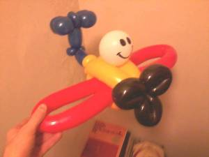 airplane balloon