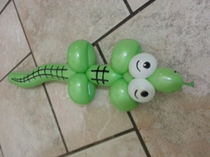 balloon alligator