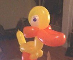 duck balloon animal