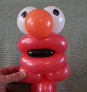 Balloon Elmo