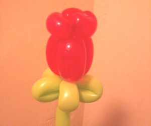 balloon rose
