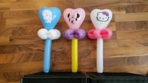 balloon heart wand