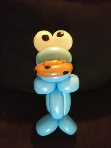 Balloon Cookie Monster