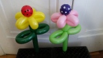 Balloon Polka Flowers