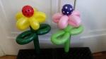 Balloon Polka Flowers