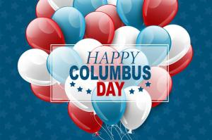 Happy Columbus Day From MT Balloon Creations