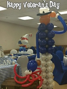 happy Veteran's Day from MT Balloon Creations